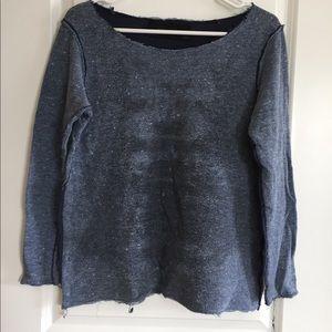 Zara distress sweater